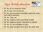 quiz british education9
