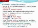 h pid pool various id scenarios