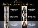 student leadership group