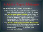 4 add a tag to dialogue