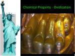 chemical property oxidization