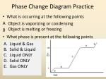 phase change diagram practice