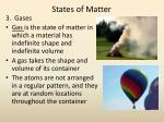 states of matter1
