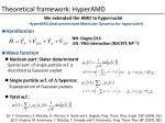 theoretical framework hyperamd