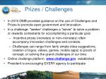 prizes challenges