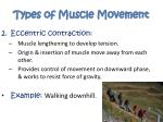 types of muscle movement1