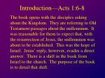 introduction acts 1 6 8