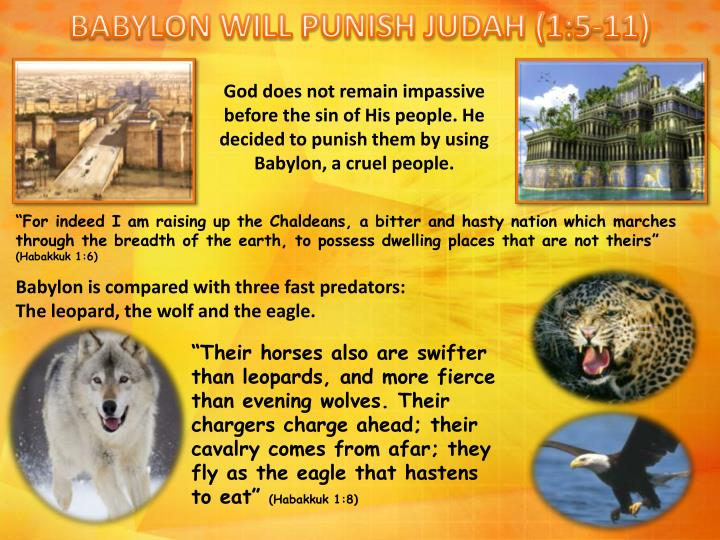 BABYLON WILL PUNISH JUDAH (