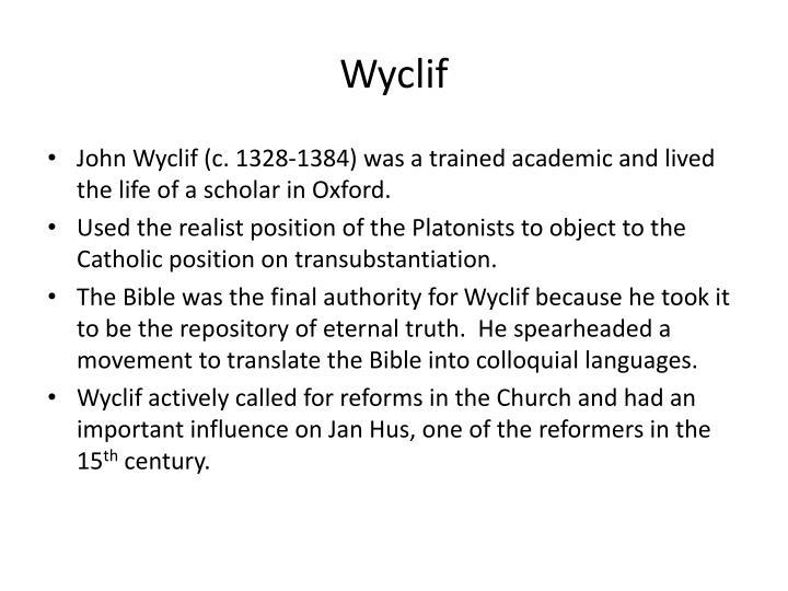 Wyclif