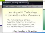 learning with technology in the mathematics classroom2
