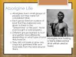 aborigine life