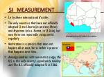 si measurement