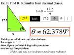 ex 1 find round to four decimal places