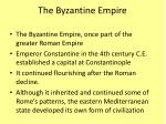 the byzantine empire1