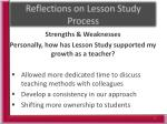 reflections on lesson study process1