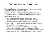 current status of kottooli