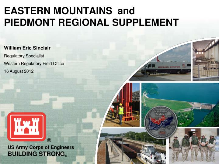 eastern mountains and piedmont regional supplement n.