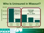 who is uninsured in missouri