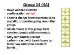 group 14 4a