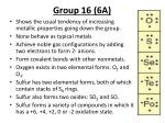 group 16 6a