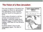 the vision of a new jerusalem