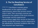 3 the far reaching service of conciliators