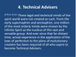 4 technical advisers