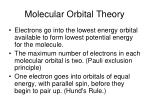 molecular orbital theory2