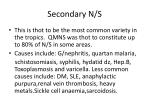 secondary n s