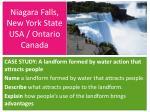 niagara falls new york state usa ontario canada