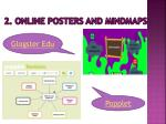 2 online posters and mindmaps