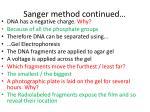 sanger method continued3