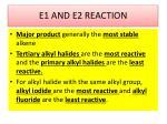 e1 and e2 reaction1