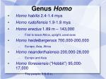 genus homo1