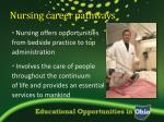 nursing career pathways