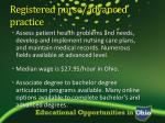 registered nurse advanced practice