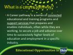what is a career pathway