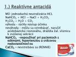 1 reakt vne antacid