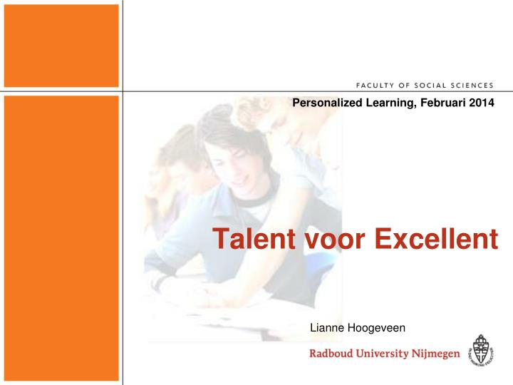 personalized learning februari 2014 n.