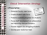 clinical intervention strategy1