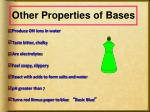 other properties of bases