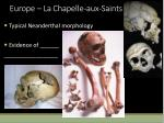 europe la chapelle aux saints