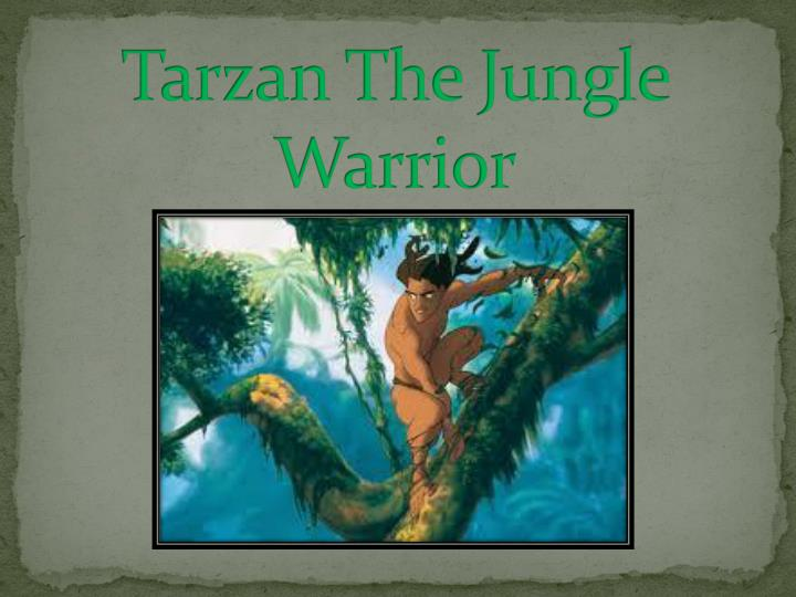 tarzan the jungle warrior n.