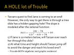 a hole lot of trouble1