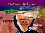 the exodus background2