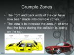 crumple zones