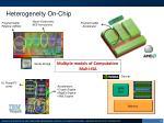 heterogeneity on chip