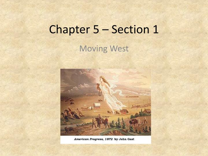chapter 5 section 1 n.