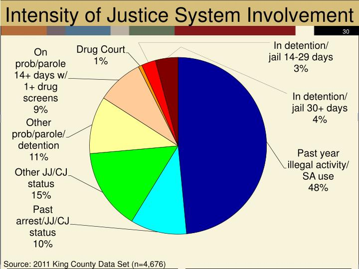 Intensity of Justice System Involvement
