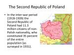 the second republic of poland